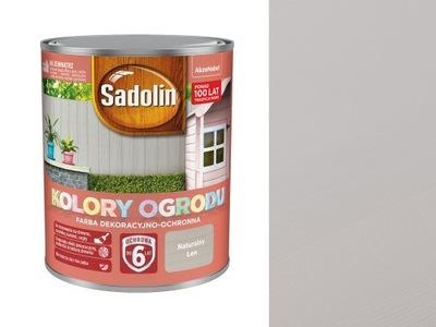 Sadolin Kolory Ogrodu Naturalny Len 0,7L