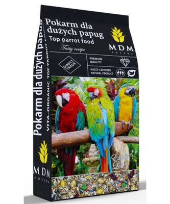 MDM Karma dla dużych papug 10kg