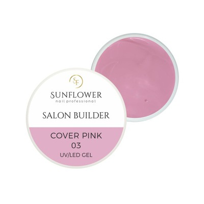 Salon Builder Cover pink 50g Żel UV Budujący