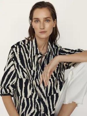 MASSIMO DUTTI koszulowa zebra 42 60 euro