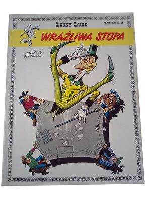 LUCKY LUKE - WRAŻLIWA STOPA wyd. I 1992 r.