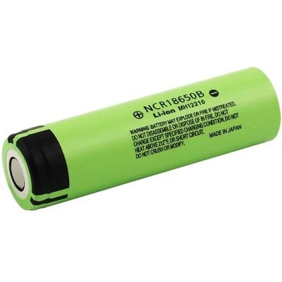 akumulator Li-ion 3,7V PANASONIC NCR18650B 3400mAh