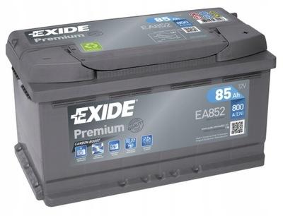 EXIDE PREMIUM FUTURA EA852 85Ah 800A