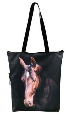 FERA Torba klasyczna na zakupy Koń gniady PREMIUM