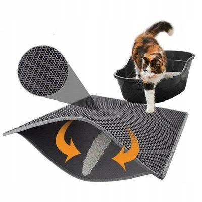 Rohožka pred krabičkou na mačky 30 * 45