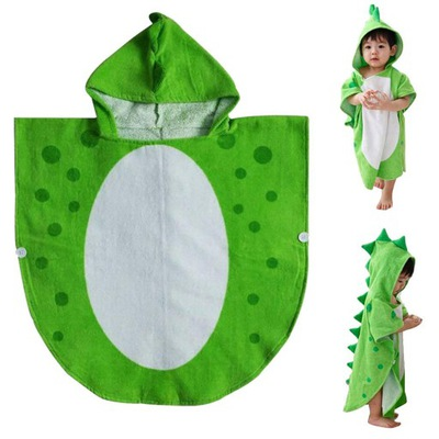 Ręcznik kąpielowy dla dzieci wzór dinozaura