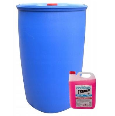 Płyn zimowy do spryskiwaczy 200L + pompka METANOL