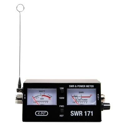 K-PO SWR-171 miernik SWR / mocy do anteny CB radio