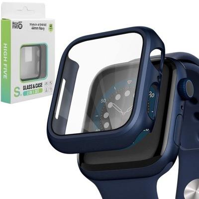 Hi5 | Etui Case + Szkło NAVY do Apple Watch 44mm