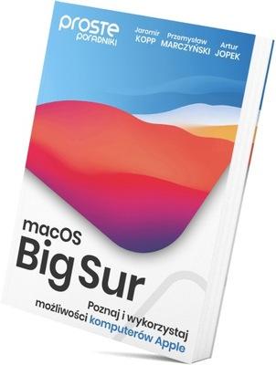 Książka macOS Big Sur. Proste Poradniki