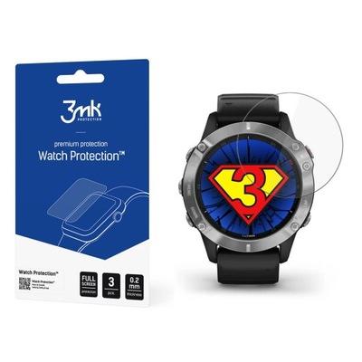 Ochrona na ekran smartwatcha Garmin Fenix 6 - 3mk