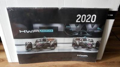 AMG Kalendarz archiwalny z 2020 Nowy! 60cm x 43cm