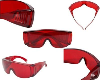 Okulary gogle ochronne robocze osłona twarzy