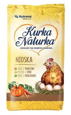 лисички NATURKA корма для кур-несушек 25 кг крошиться