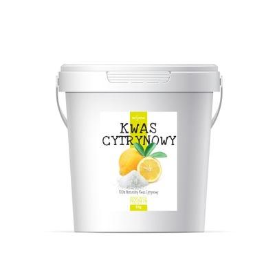 Kwasek Cytrynowy Jednowodny 5kg Kwas cytrynowy
