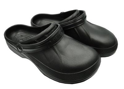 Kroksy klapki lekkie buty ogrodowe męskie 46