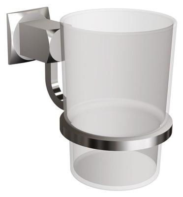 Hrnček pre kúpeľňa, zubná kefka visí sklo