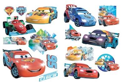Detské samolepky na stenu AUTA CARS 140x50