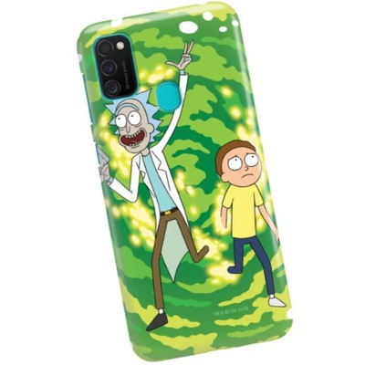 Etui do SAMSUNG M21 Case Rick & Morty Wzory
