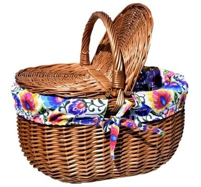 БОЛЬШОЙ Корзина для пикника. плетеный магазинам Пикник разные