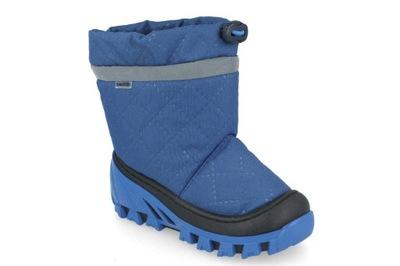 Śniegowce chłopięce BARTEK 4486 niebieski R30