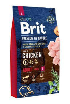 BRIT PREMIUM BY NATURE ADULT LARGE L 8 KG