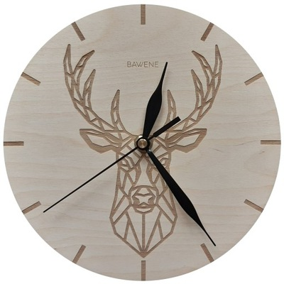 часы instagram ОЛЕНЬ на стену ?????????? 21cm