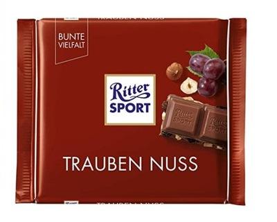 Ritter Спорт Trauben Nuss 100г