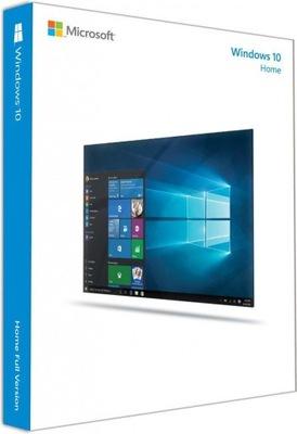 Microsoft Windows 10 HOME PL 32/64 NOWA LICENCJA