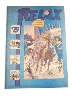 RELAX nr. 25 1979 r. wyd. I stan kolekcjonerski.
