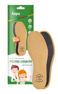 Przeciwpotne Skórzane Wkładki do butów dziecięcych
