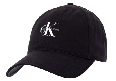 CALVIN KLEIN CZAPKA Z DASZKIEM CAP 2990 BLACK