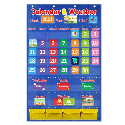 Kieszonkowy wykres kalendarza i pogody,