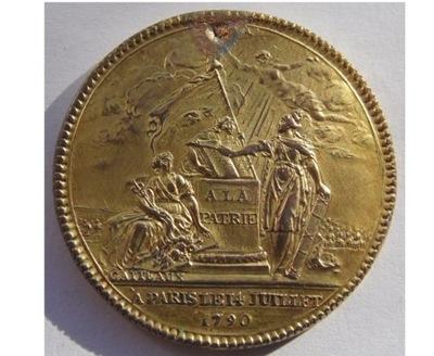 Медаль конфедерации Франция 1790