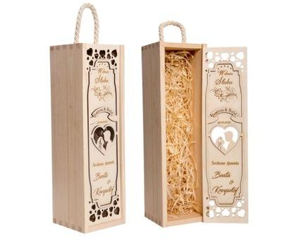 коробка вино подарок свадебный