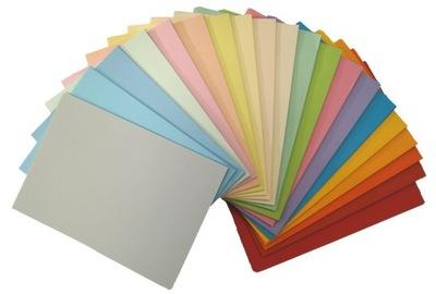 Papier kolorowy A4 80g miks mix 20 kolorów 200ark