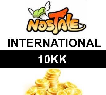 NOSTALE INTERNATIONAL ZŁOTO GOLD GOLDY 10KK