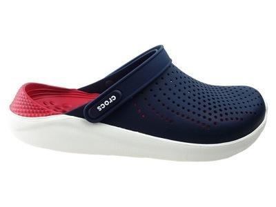 Klapki Crocs Literide 204592 navy pepper 43/44