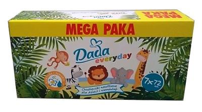 Dada Everyday Chusteczki nawilżane 7x72szt.