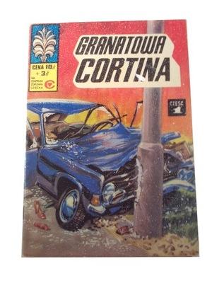 KAPITAN ŻBIK GRANATOWA CORTINA 1978 r. wyd. I