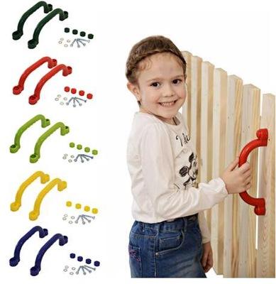 Rączki 24cm. uchwyty plastikowe na plac zabaw