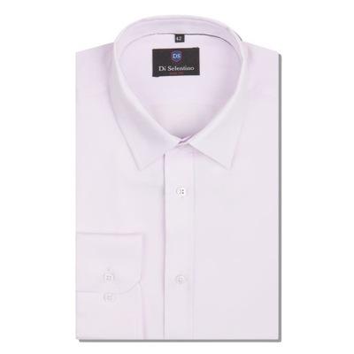 Męska koszula pudrowy róż rozmiar S 37 38 7523295985  Gl5ts