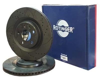 ROTINGER GT 20724 ДИСКИ ПЕРЕД A4 B8 A5 Q5 320MM