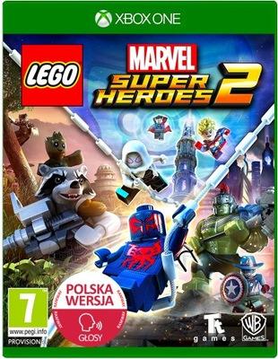 LEGO MARVEL SUPER HEROES 2 XOne PL Dubbing 2graczy