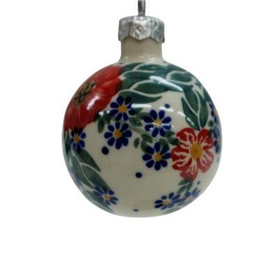 Bombka mała Ceramika Bolesławiec