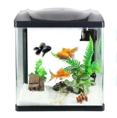 Akvárium HR-230 7L s filtrom a LED lampou 4 farby