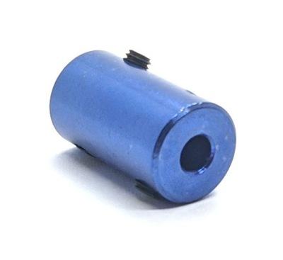 Łącznik sprzęgło aluminiowe sztywne 5x8x25mm
