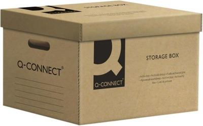 Pudło archiwizacyjne Q-Connect 6x80mm A4 szary