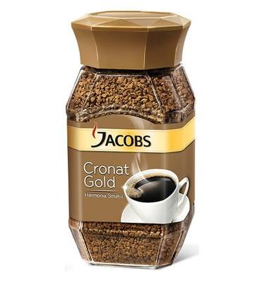 кофе ДЖЕЙКОБС Cronat Gold растворимый 200г
