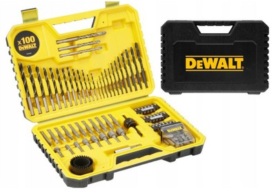 DeWalt DT71563 комплект OSPRĘTU СВЕРЛА биты 100 штук